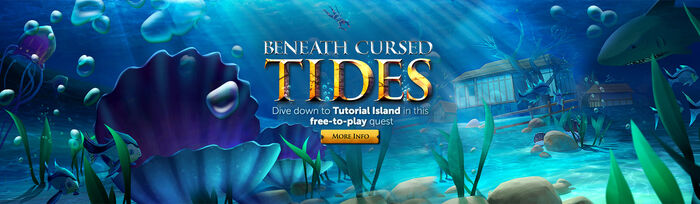 Beneath Cursed Tides head banner