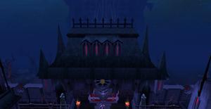 Castle Drakan entrance