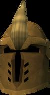 Golden Dharok's helm detail