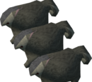 Chinchompas (level 99 approx.)