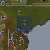 Crystal tree (Yanille) location