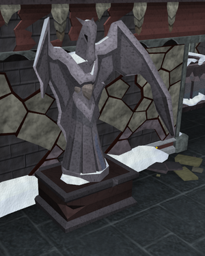 Dragonkin statue old