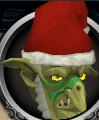 Wartface chathead (Christmas)