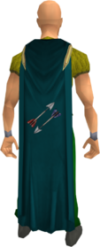 Fletching cape equipped