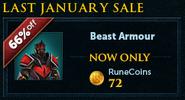 Last January Sale lobby banner