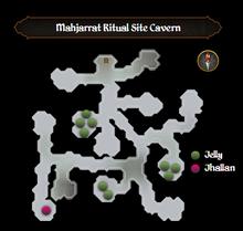 Mahjarrat Ritual Site Cavern map