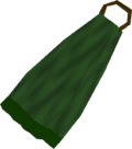 Cape (green) detail