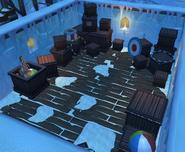 Seal Camp storage room