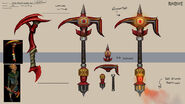 Dwarf Quest new pickaxe concept art