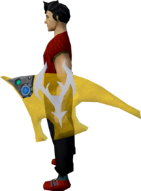 Augmented arcane spirit shield equipped