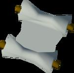 Hazelmere's scroll detail