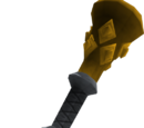 Gold torch