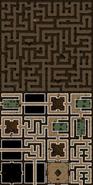 Sliske's labyrinth false map