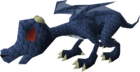 Baby dragon (blue) pet old