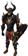 Black armour (g) (lg) equipped