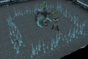 Icy Bones fight
