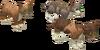 Three little kittens detail