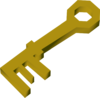 Chest key (Pirate's Treasure) detail
