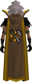 Retro hooded crafting cape (t) equipped