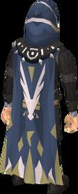 Veteran cape equipped
