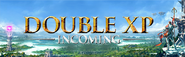 Double XP Incoming lobby banner