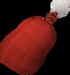 Santa sack detail