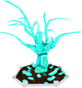 Crystal tree (harvested)