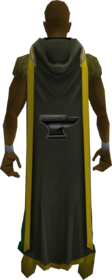 Hooded smithing cape (t) equipped
