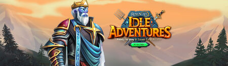 Idle Adventures head banner