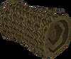 Small cast net detail
