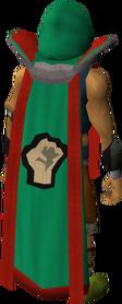 Retro strength cape (t) equipped