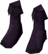 Musketeer's boots (purple, female) detail