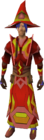 Infinity robes (Fire) equipped