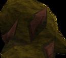 Iron ore rocks