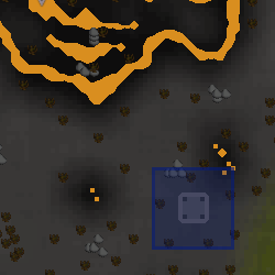 Wilderness obelisk (level 35) location
