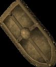 Bronze kiteshield detail