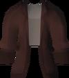 Shirt (male, maroon) detail