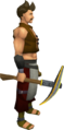 Gilded steel pickaxe equipped.png