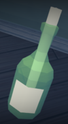 Message in a bottle (Beneath Cursed Tides)