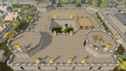 Varrock palace roof