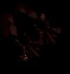 Malevolent greaves (blood) detail