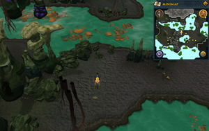 Scan clue Lumbridge Swamp Caves south of Lumbridge Swamp entrance