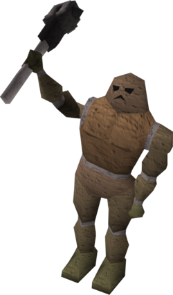 Clay golem chanting