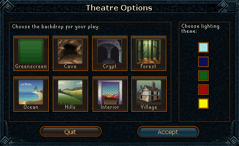 Theatre Options