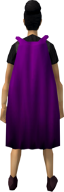 Fremennik cloak (purple) equipped