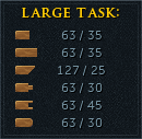 Over-completed task