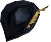 Musketeer's hat (yellow, male) detail
