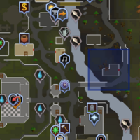 Lumbridge Refugee Shelter location