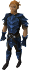 Blue dragonhide armour equipped old 2