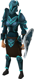 Rune trimmed armour set (sk) equipped